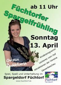 2014 Spargelfrühling Flyer Snapshot