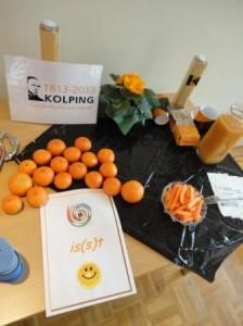 Koling isst Orange